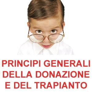 Principi generali della donazione e del trapianto